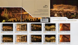 Greece - 2019 - Acropolis I - Mint Self-adhesive Booklet With Hologram - Booklets