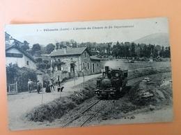 L Arrivée Du Chemin De Fer Départemental - Pelussin