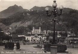 SAN PELLEGRINO TERME-BERGAMO-CARTOLINA VERA FOTOGRAFIA VIAGGIATA IL 11-1-1950 - Bergamo