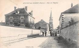 AULNAY SUR MARNE - Rue De L'Eglise - France