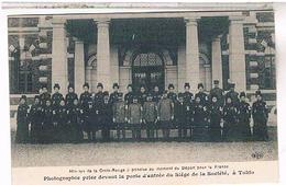 75:18° Tokio Depart Mission Croix Rouge Japonaise Pour Hopital Benevole 4bis Paris To03 - Salud, Hospitales