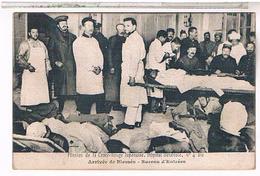75:18° Mission Croix Rouge Japonaise Hopital Benevole 4bis Paris Arrivee Des Blesses - Salud, Hospitales