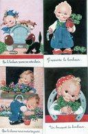 Lot De 10 Cpa Thème Illustrateur Signé Ilda - Allias Béatrice Mallet (1896-1951), Illustratrice De Livres Pour Enfant - Mallet, B.