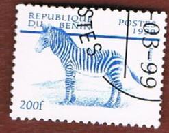 BENIN  - SG 1787.1796  - 1999  ANIMALS   - USED ° - Benin – Dahomey (1960-...)