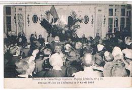PARIS:18° Mission Croix Rouge Japonaise Inauguration Hopital Benevole 4 Bis  To08 - Salud, Hospitales