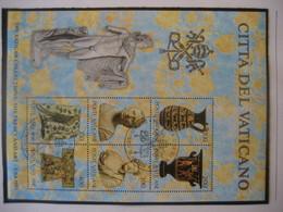 Vatikan- FDC Ausstellung Vatikanischer Kunstwerke Block 5, 6 Und 7 Mi. 820-825, 830-835, 836-841 - Vatican