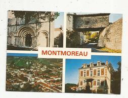 Cp , 16 , MONTMOREAU ,multi Vues ,  Vierge - Otros Municipios
