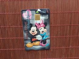 Disney Phonecard Mickey & Minnie Mouse - Disney