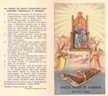 "08432 ""SANCTA MARIA DE BARBANA - ORA PRO NOBIS - GRADO (GO)"" IMM. REL. ORIG. - Santini"