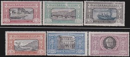Italia   .     Yvert     .  146/151  (146/147: (*) )    .     *   .  Neuf Avec Charniere  .    /   .   Mint-hinged - 1900-44 Vittorio Emanuele III
