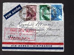 1939 UPU X!e Congres Postal Uniiversel Excursion Des MM. Les Délégués MAR DEL PLATA (600) - Argentinien