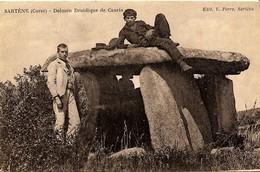 CORSE - Près De SARTENE à CAURIA - Dolmen Druidique (Stazzone)  - Animation - Ed. PORRO - Sartene