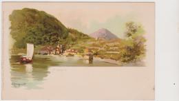 Argegno (CO)  , Illustrata Da Prosdocimi, Della Serie N° 1032  - F.p. -  Primi Anni '1900 - Como