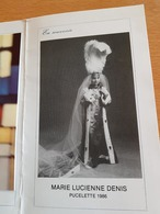 PUCELETTE 1986 WASMES-EN-SOUVENIR-DE-MARIE LUCIENNE DENIS -NOTRE-DAME-DE-WASMES - Cultuur
