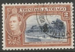 Trinidad & Tobago. 1938-44 KGVI. 2c Used. SG 247 - Trinidad & Tobago (...-1961)