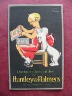 Publicité D'après René Vincent Dépliant Biscuits Huntley & Palmers Quelques Spécialités La Courneuve - Publicités