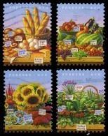 Etats-Unis / United States (Scott No.4912-15 - Marchés Fermier / Farmer's Markets) (o) - Used Stamps