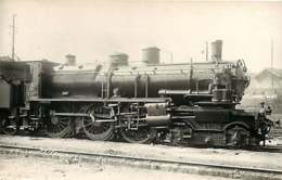 050819A - PHOTO VILAIN - TRANSPORT TRAIN CHEMIN DE FER - Loco Train 3537 LA CHAPELLE 230D25 - Estaciones Con Trenes