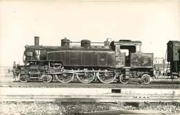 050819A - PHOTO VILAIN - TRANSPORT TRAIN CHEMIN DE FER - Loco Train 3831 LA CHAPELLE 231TA31 - Estaciones Con Trenes