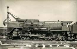 050819A - PHOTO VILAIN - TRANSPORT TRAIN CHEMIN DE FER - Loco Train 3.1249 LA CHAPELLE 231D1 - Estaciones Con Trenes