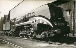 050819A - PHOTO VILAIN - TRANSPORT TRAIN CHEMIN DE FER - Loco Train LA CHAPELLE 231UI Face SNCF - Estaciones Con Trenes