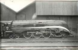 050819A - PHOTO - TRANSPORT TRAIN CHEMIN DE FER - Loco Train LA CHAPELLE 232S001 - Gares - Avec Trains