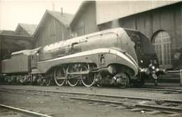 050819A - PHOTO - TRANSPORT TRAIN CHEMIN DE FER - Loco Train 232S002 LA CHAPELLE - Gares - Avec Trains