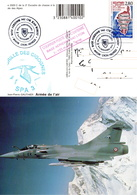 """CP-"""" MIrage C""""- Cachet: Lyon Armées- B .A - 942- - Storia Postale"""