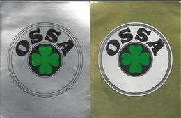 2 Autocollants - Panini - OSSA - Panini