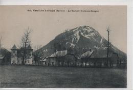 CPA B89 MOTTE EN BAUGES- Le Rocher-maisons-pré - Francia
