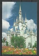USA Post Card Walt Disney Disneyworld Sent From Germany With German Stamp 1999 - Disneyworld
