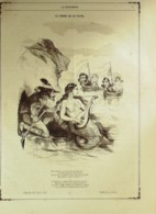 DESSIN-EMY HENRI-LA SIRENCE De La PLATA-1863-D146 - Non Classificati