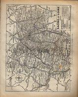 ANNUAIRE - 71 - Département Saône Et Loire - Année 1942 - édition Didot-Bottin - 134 Pages - Telefonbücher