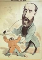 DESSIN-GILL ANDRE-JEAN-BAPTISTE FAURE Baryton-1865-D70 - Old Paper