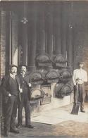 ¤¤    -   VITRE   -  Carte-Photo  - Vue D'Ouvriers Dans L'Usine à Gaz En 1914  -   ¤¤ - Vitre