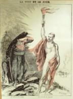 DESSIN-MONTBARD-LES CONCILES De NAPLES Et ROME-1865-D74 - Unclassified