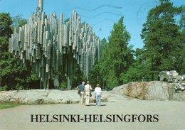 HELSINKI-HELSINGFORS- VIAGGIATA  1988  FG - Finlandia