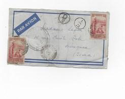 Lettre Afrique Cote D'ivoire Censure Controle Telegraphique - Postmark Collection (Covers)