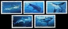 Etats-Unis / United States (Scott No.5223-27 - Requin / Shark) (o) Set - United States