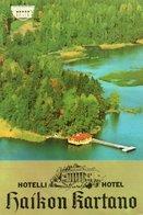 HOTELLI HAIKON KARTANO- VIAGGIATA  1976  FG - Finlandia