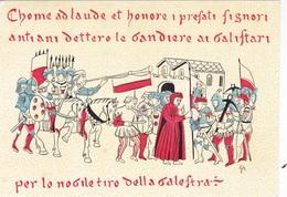 TORNEO NAZ. DELLA BALESTRA 20-7-1975  AUTENTICA 100% - Post