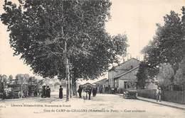 CAMP DE CHALONS (Mourmelon Le Petit) - La Gare - Cour Extérieure - Camp De Châlons - Mourmelon