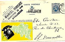 LE 0094. EP PUBLIBEL GENT 10 + GRIFFE AVELGHEM V. Bruxelles. TB - Griffes Linéaires
