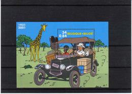 BLOK 93 Kuifje Tintin 2001 POSTFRIS** - Blocks & Sheetlets 1962-....