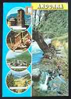 ANDORRA - Multiview -  St. Joan De Caselles, Ordino, Pas De La Casa, Port D'Envalira -  Vg - Andorra