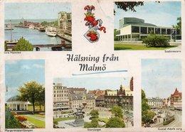 HALSNING FRAN MALMO- VIAGGIATA  1959  FG - Svezia