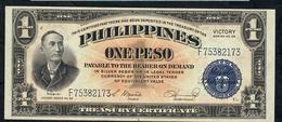 """PHILIPPINES P94 1  PESO 1944 """" VICTORY """" #F    UNC. - Filippijnen"""