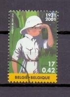3048SP TINTIN Kuifje GESTEMPELD SPECIMEN STEMPEL 2001 - Belgium