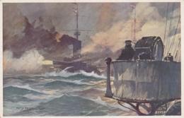 AK -WK I -  Österr. Flottenverein - Beschiessung Anconas Durch Die K.und K. Flotte 1915 - Weltkrieg 1914-18