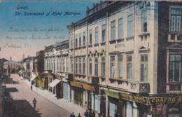 AK - Rumänien - GALATI - Strada Domneasca Si HOTEL METROPOL 1923 - Rumänien